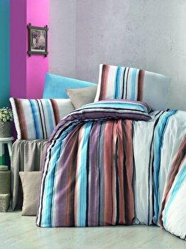 Lenjerie de pat, Victoria, 121VCT2391, Multicolor imagine