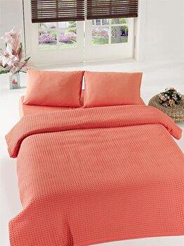 Cuvertura de pat, Eponj Home, 143EPJ5204, Roz