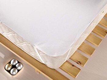 Protectie saltea 160x200 cm, Eponj Home, 143EPJ9902, Alb