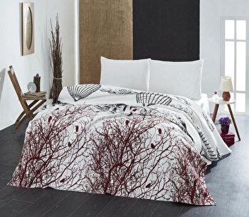 Cuvertura de pat, Eponj Home, 143EPJ6024, 100 procente bumbac, 200x235 cm, Multicolor elefant