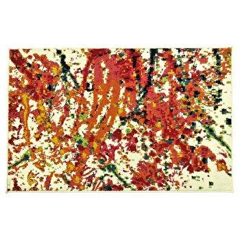 Covor Decorino Modern & Geometric C97-030302, Alb/Multicolor, 160x235 cm imagine