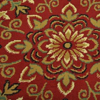 Covor Decorino Modern & Geometric C116-030208, Rosu/Maro, 67x120 cm