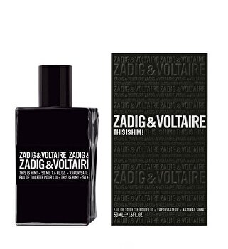 Apa de toaleta Zadig & Voltaire This Is Him, 50 ml, pentru barbati