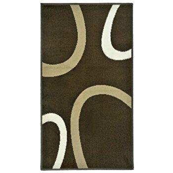 Covor Decorino Modern & Geometric C04-020174, Maro, 80x150 cm