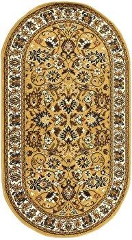 Covor Decorino Oriental & Clasic C04-020192, Maro/Bej, 80x150 cm