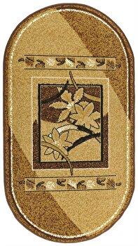 Covor Decorino Oriental & Clasic C255-020189, Maro/Bej, 150x210 cm imagine