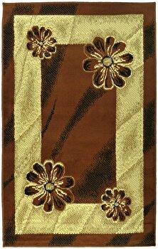 Covor Decorino Oriental & Clasic C23-030224, Maro/Bej, 100x150 cm
