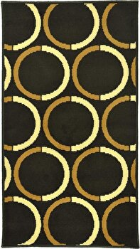 Covor Decorino Modern & Geometric C116-030221, Maro/Bej, 67x120 cm