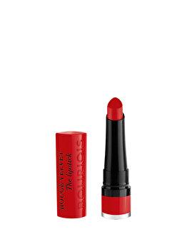 Ruj de buze Bourjois Rouge Velvet, 08 Rubi s cute, 2.4 g imagine produs