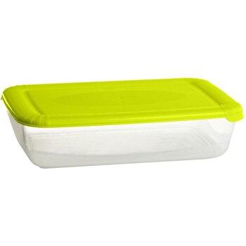 Recipient pentru alimente cu capac Domotti, 122699, Verde poza