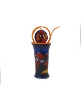 Recipient pentru apa Disney, Spiderman, 89183, Albastru imagine