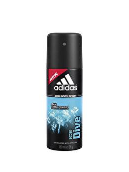 Deospray Adidas Ice Dive, 150 ml, pentru barbati poza