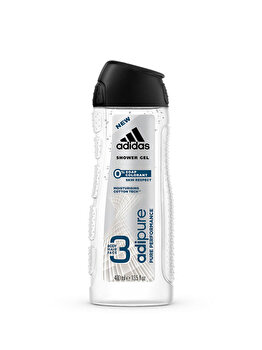 Gel de dus Adidas 3 in 1 Adipure, 400 g, pentru barbati poza