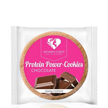 Biscuiti Proteici - Ciocolata - 80 g de la Women's Best