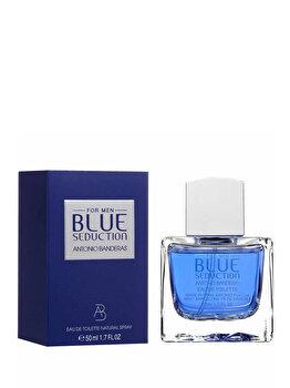 Apa de toaleta Antonio Banderas Blue Seduction, 50 ml, pentru barbati imagine produs