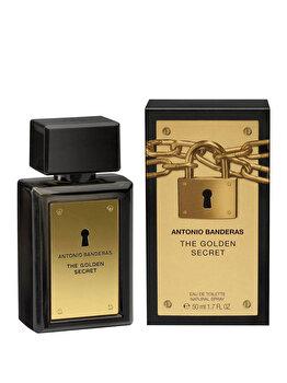 Apa de toaleta Antonio Banderas Golden Secret, 50 ml, pentru barbati poza