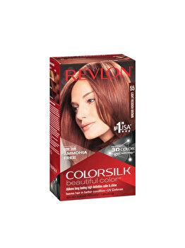 Vopsea de par Colorsilk, 55 Light Reddish Brown imagine produs