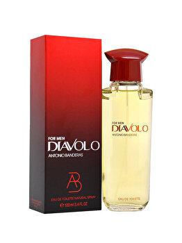 Apa de toaleta Antonio Banderas Diavolo, 100 ml, pentru barbati imagine produs