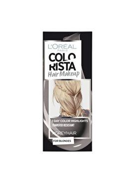 Gel colorant pentru par L'Oreal Paris Colorista Hair Makeup, Grey, 30 ml imagine produs