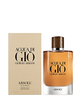 Apa de parfum Giorgio Armani Acqua di Gio Absolu, 125 ml, pentru barbati imagine