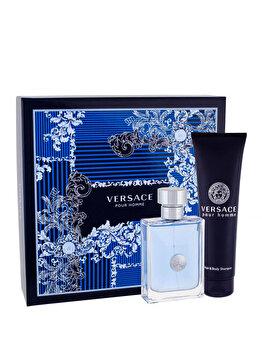 Set cadou Versace Pour Homme (Apa de toaleta 100 ml + Gel de dus 150 ml), pentru barbati imagine produs