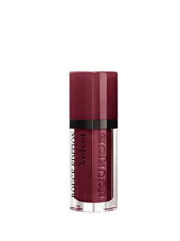 Ruj lichid de buze Bourjois Rouge Edition Velvet 24 Dark Cherie, 24 Dark Cherie, 7.7 ml imagine produs