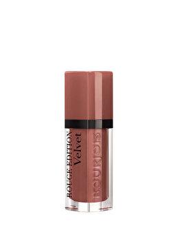 Ruj lichid de buze Bourjois Rouge Edition Velvet 29 Nude York, 29 Nude York, 7.7 ml imagine produs