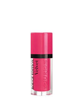 Ruj lichid de buze Bourjois Rouge Edition Velvet 34 Belle Amourose, 34 Belle Amourose, 7.7 ml imagine produs