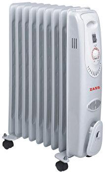 Calorifer Electric Zass Zr 09c, 9 Elementi, 2000w, 3 Trepte, Termostat, Protectie La Supraincalzire