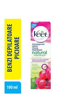Crema depilatoare Veet Ulei Seminte si Struguri 100 ml imagine produs