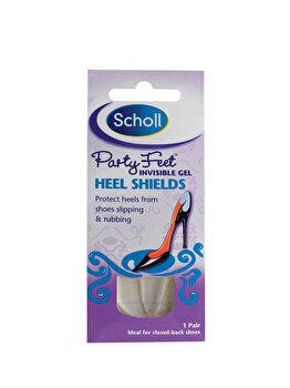 Plasture din gel transparent Scholl Party Feet pentru calcaie imagine produs