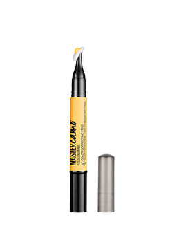 Creion pentru neutralizarea aspectului tern al tenului deschis spre mediu Maybelline New York Master Camo Color Correcting Pen Yellow, 1.5 ml imagine produs