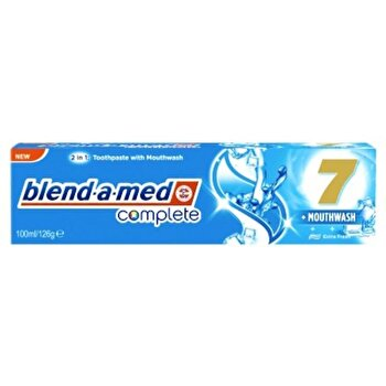 Pasta de dinti Blend-a-Med Complete 7 Extra fresh, 100 ml poza
