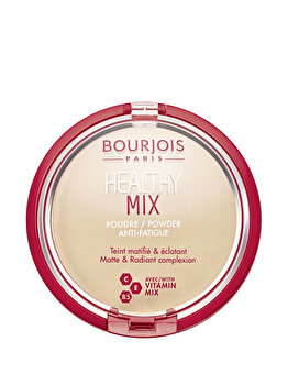 Pudra compacta Bourjois Healthy Mix, 01 Vanilla, 11 g imagine produs