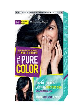 Vopsea de par Pure Color, nuanta BlueCoal 1.4, 142 ml imagine produs