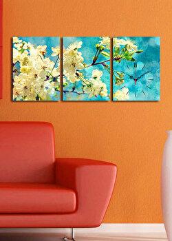 Ceas decorativ de perete Clock Art 3 Piese 228CLA3616 Multicolor