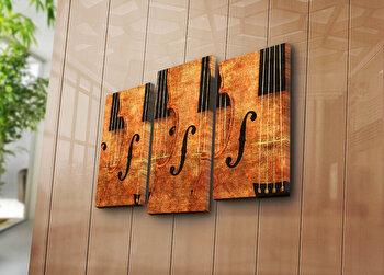 Tablou decorativ Bonanza,3 Piese, 242BNZ3214, Multicolor elefant