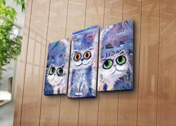 Tablou decorativ Bonanza,3 Piese, 242BNZ3236, Multicolor