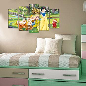 Tablou decorativ multicanvas Taffy, 241TFY1913, Multicolor elefant