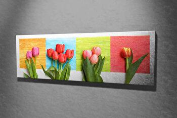 Tablou decorativ pe panza Majestic, 257MJS1271, Multicolor imagine
