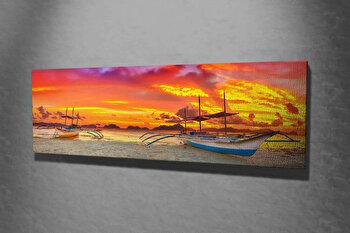 Tablou decorativ pe panza Majestic, 257MJS1276, Multicolor imagine