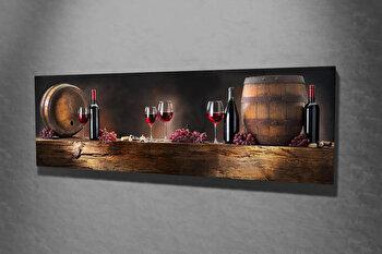 Tablou decorativ pe panza Majestic, 257MJS1279, Multicolor imagine