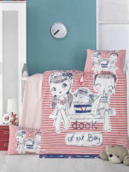 Set lenjerie de pat Victoria, pentru copii, 121VCT2031, Multicolor imagine