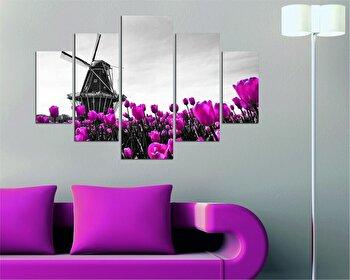 Tablou decorativ multicanvas Destiny, 5 Piese, 247DST1903, Multicolor