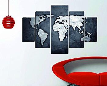 Tablou decorativ multicanvas Destiny, 5 Piese, 247DST2918, Multicolor