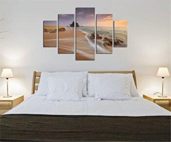 Tablou decorativ multicanvas Destiny, 5 Piese, Mare, 247DST2966, Multicolor