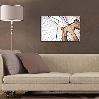 Tablou decorativ pe panza Canvart, 249CVT1309, Multicolor elefant