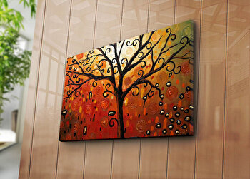 Tablou decorativ pe panza Horizon, 237HRZ3275, Multicolor elefant