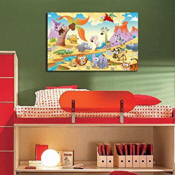 Tablou decorativ Taffy, 241TFY1217, Multicolor elefant