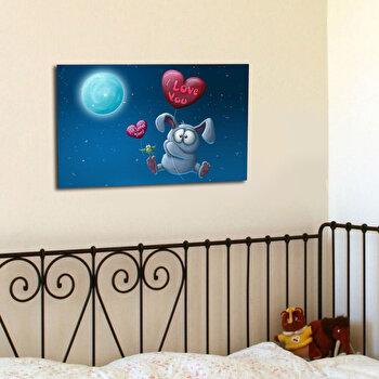 Tablou decorativ Taffy, 241TFY1224, Multicolor imagine